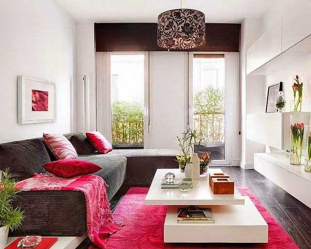 Küçük Oturma Odası Dekorasyonu İçin Fikirler