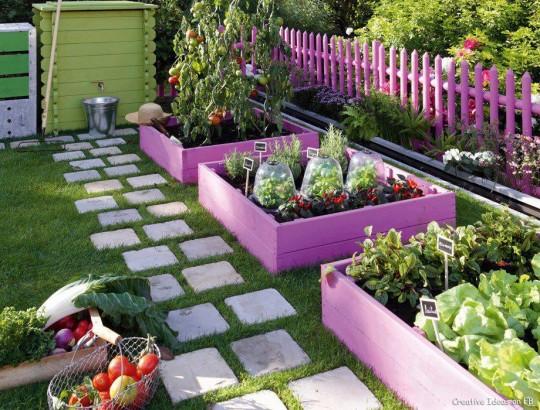 Bahçenize Renk Katın