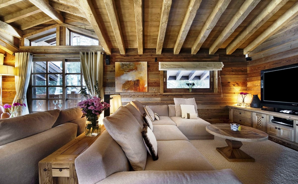 Dekorasyonda Wooden Esintisi