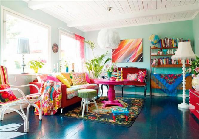 Dekorasyonda Rahatlatıcı Renkler