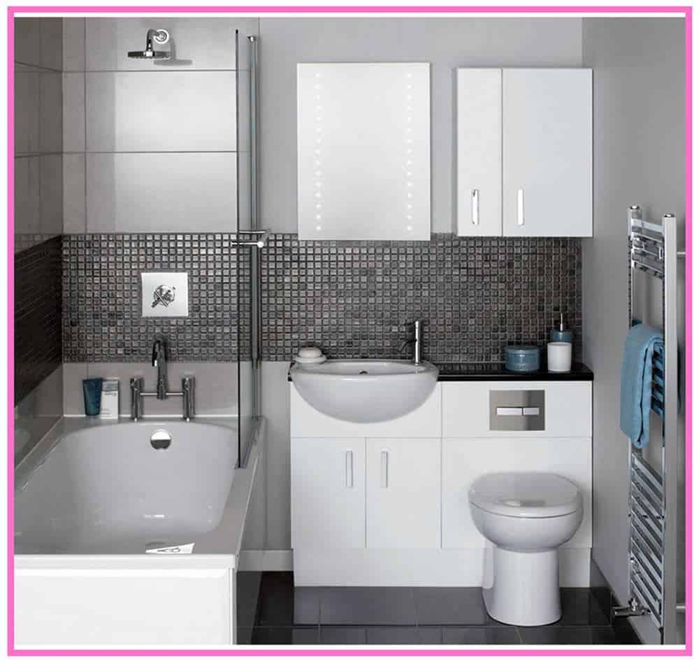 Küçük Banyolar İçin Dekorasyon Örnekleri